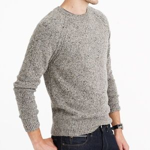 J. Crew Men's Donegal Wool Sweater NWT